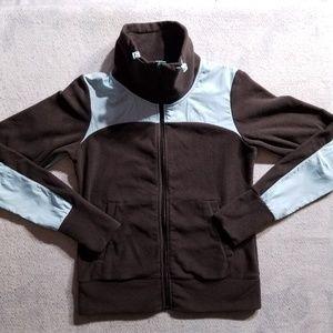 Nike Zip-up Fleece 2-Tone Long Sleeve Jacket